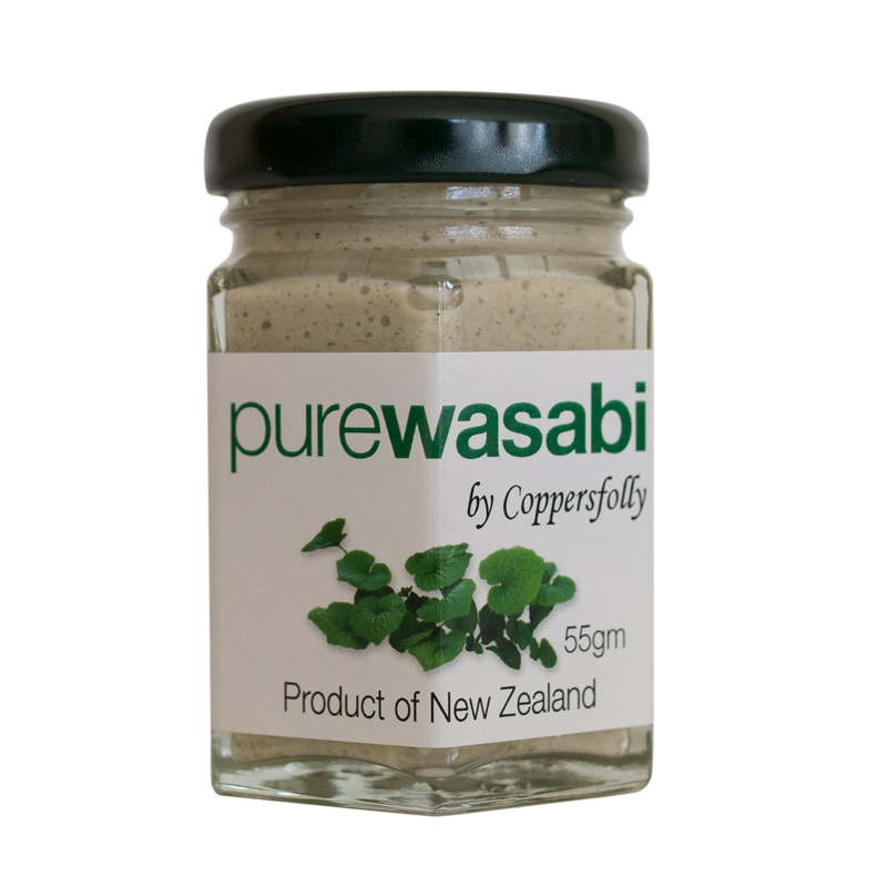 purewasabi 55ml glass jar by Coppersfolly
